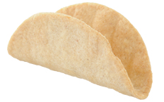 Dreamers Gourmet Mini Taco Shell: White Corn Mini Taco Shell